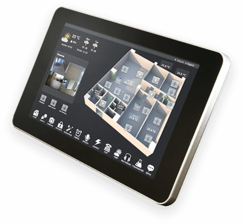 HSYCO Pi Touch Display | Home/building Automation Solutions